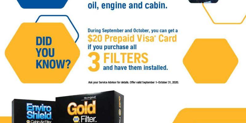 3 Automotive Filters