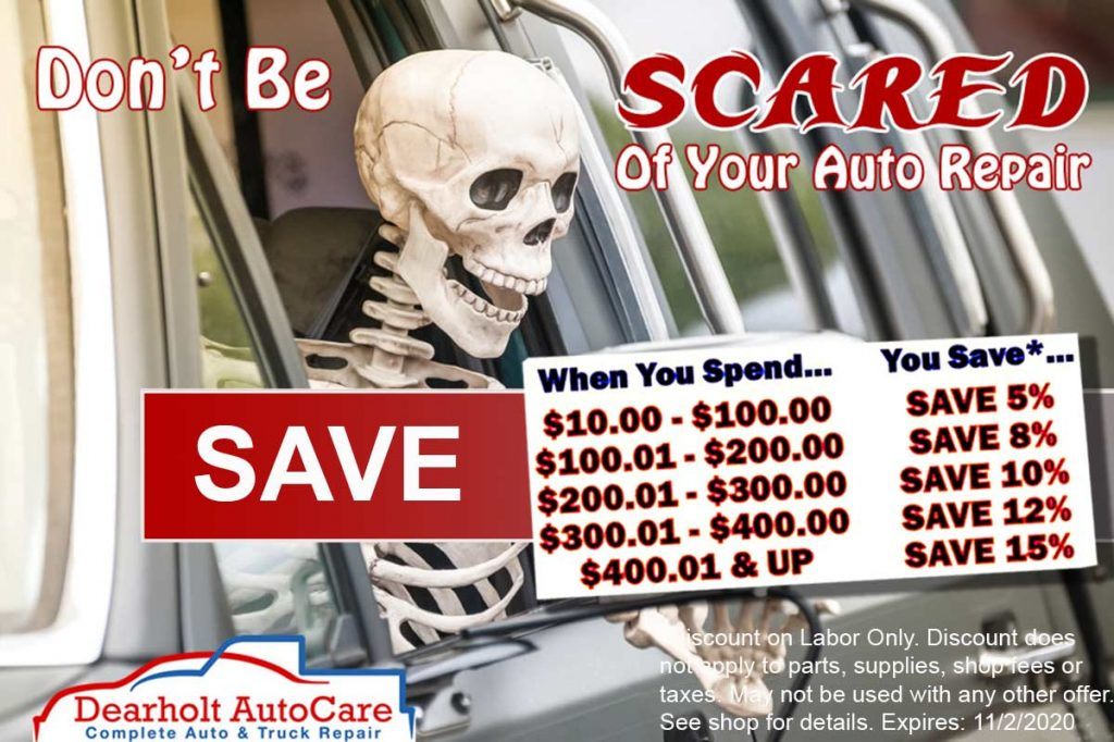 Save more when you spend more on your auto repair