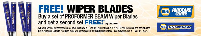 FREE Wiper Blades