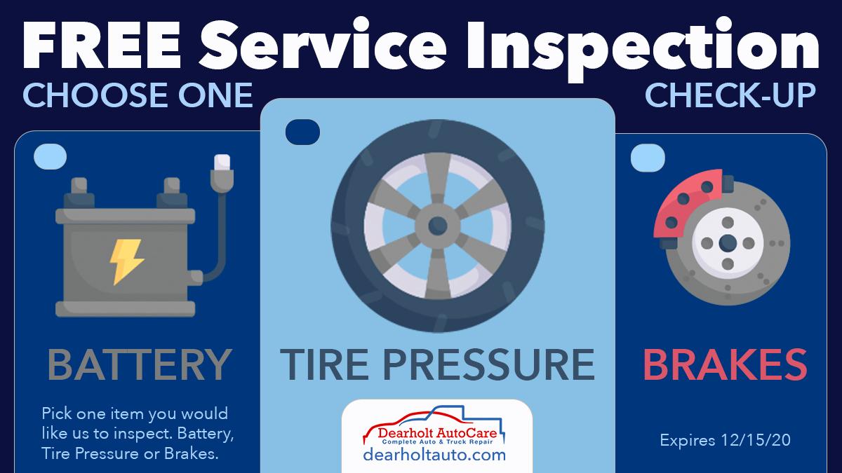 Free Automotive Inspection