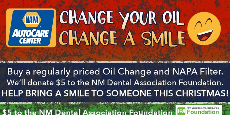 Change Your Oil and Change A Smile