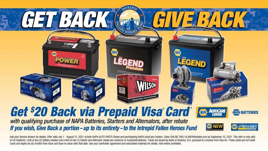 Give Back with NAPA Brakes