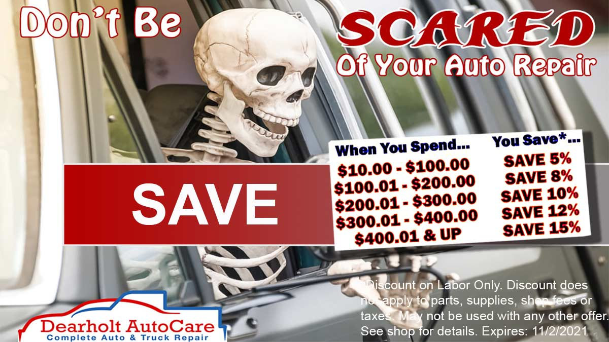 Don't be scared of your auto repairs